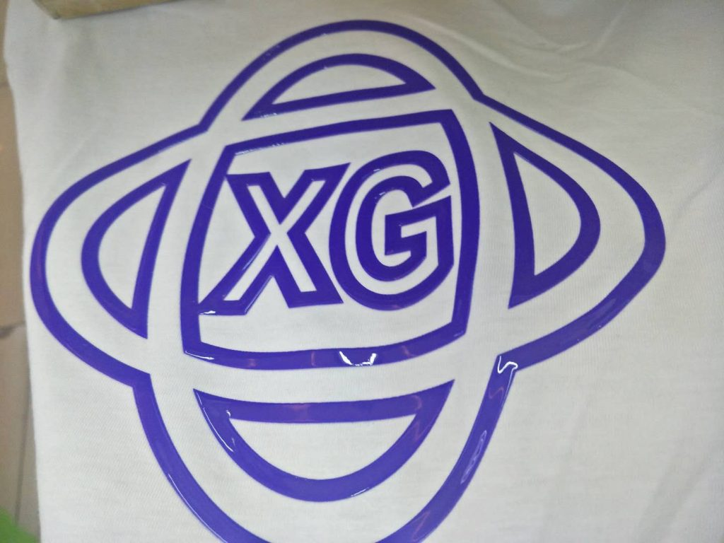 xg hd silicone  3d glossy silicone effect